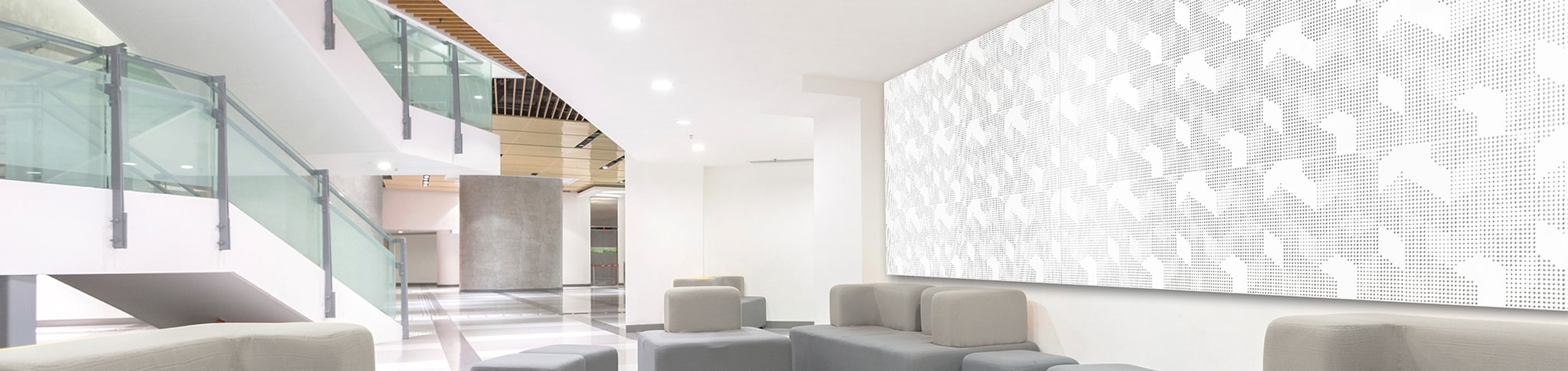 Artnovion White Office Acoustic Wall Panels