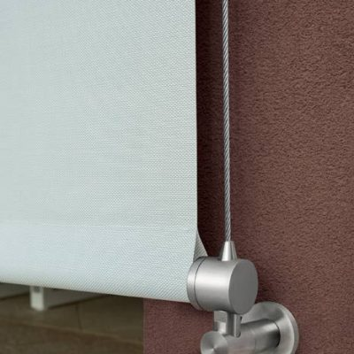 Tao secure outdoor blinds close up
