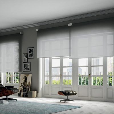 Patio-doors-overlapping-roller-blinds